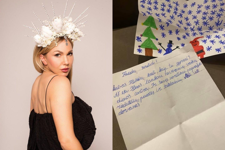 Gintarė Eimantaitė nupirko dovanų vaikų dienos centrų lankytojams.<br>lrytas.lt montažas.