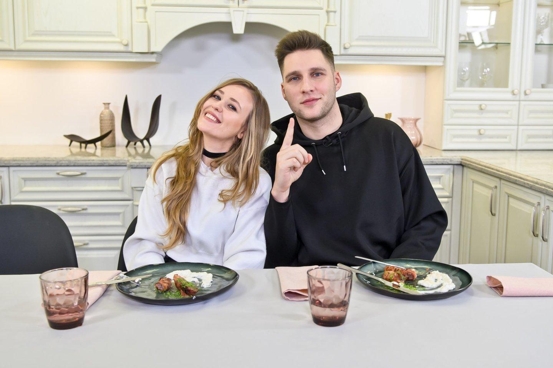 Ugnė Kudlaitė-Otreya ir Andrius Aleknavičius-Alekna.<br>tomasfoto.lt nuotr.