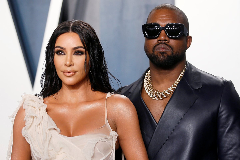 Kim Kardashian ir Kanye Westas.<br>Scanpix/RS nuotr.