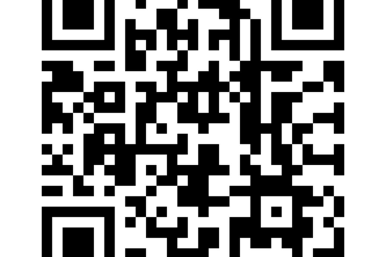 Kodas, kurį nuskaičius išmaniajame renginyje galėsite dalyvauti virtualiame žaidime.<br>KTKC nuotr.