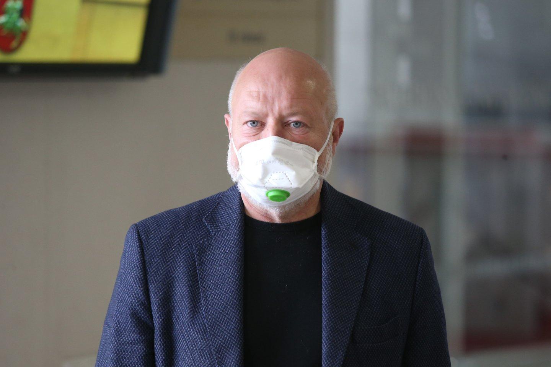 E. Gentvilas apie draudimą rūkyti balkonuose: tai – neveikiantis įstatymas.<br>R.Danisevičiaus nuotr.