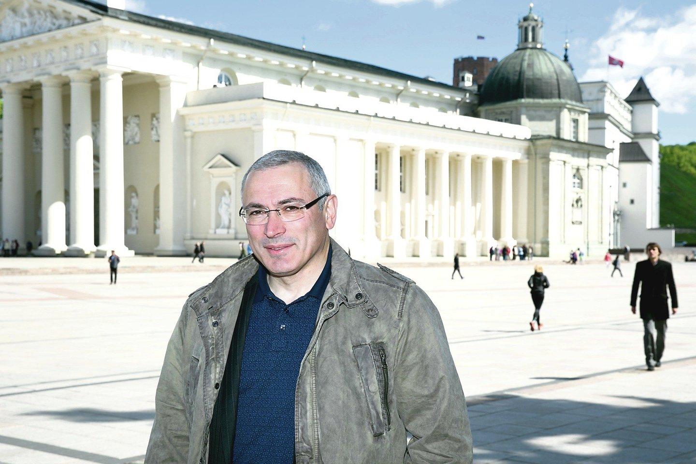 """Rusija nenori mokėti kompensacijų M.Chodorkovskiui priklausiusio ir išardyto koncerno """"Jukos"""" akcininkams.<br>T.Bauro nuotr."""
