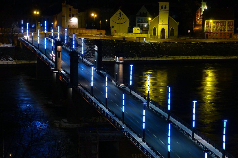 1930 m. minint Vytauto Didžiojo mirties 500-ąsias metines Kaune ties Aleksotu atidarytas Vytauto Didžiojo tiltas per Nemuną.<br>A.Barzdžiaus nuotr.