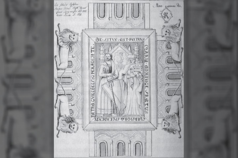 Turtai, kuriuos sudaro monetos bei juvelyriniai dirbiniai – ir kurie, teigiama, priklausė rusėnų princesei ir XII a. Lenkijos karaliaus Boleslovo III Kreivaburnio seseriai – buvo atrasti nedideliame Sluškovo kaimelyje.<br>Vroclavo architektūros atlaso iliustr.
