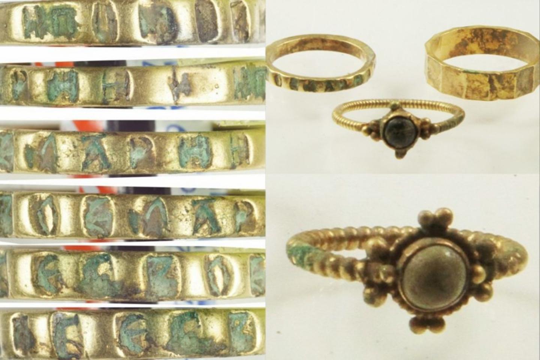 900 metų senumo turtai, tarp kurių yra monetų ir juvelyrinių dirbinių, buvo atrasti mažame Sluškovo kaimelyje.<br>Lenkijos Mokslų akademijos Archeologijos ir antropologijos instituto nuotr.