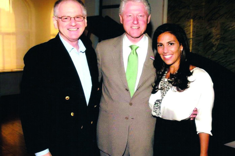 Unikalia S.Taco metodika domėjosi buvęs JAV prezidentas B.Clintonas ir verslininkė R.Tahari.<br>Nuotr. iš asmeninio albumo