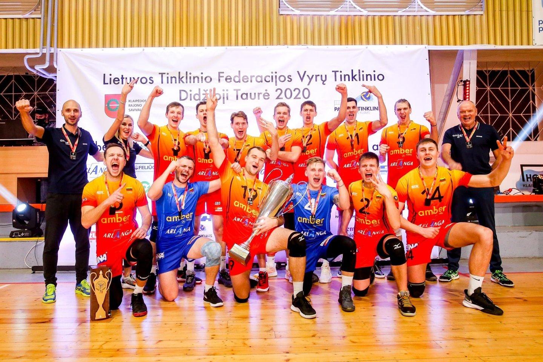 Taurę laimėjo Gargždų komanda.<br>Mariaus Baranausko nuotr.
