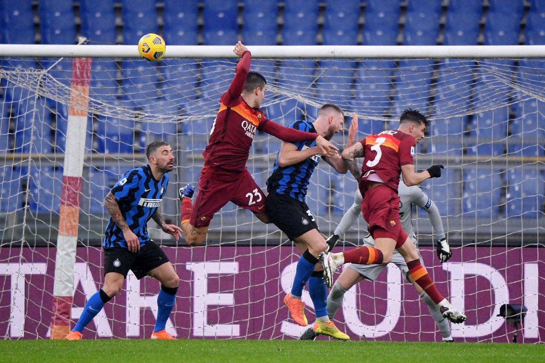 """""""Roma"""" išlygino rezultatą.<br>Reuters/Scanpix nuotr."""