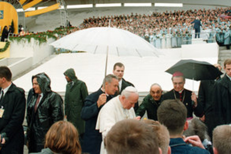 Jono Pauliaus II vizitas Lietuvoje 1993 m.<br>J.Staselio nuotr.