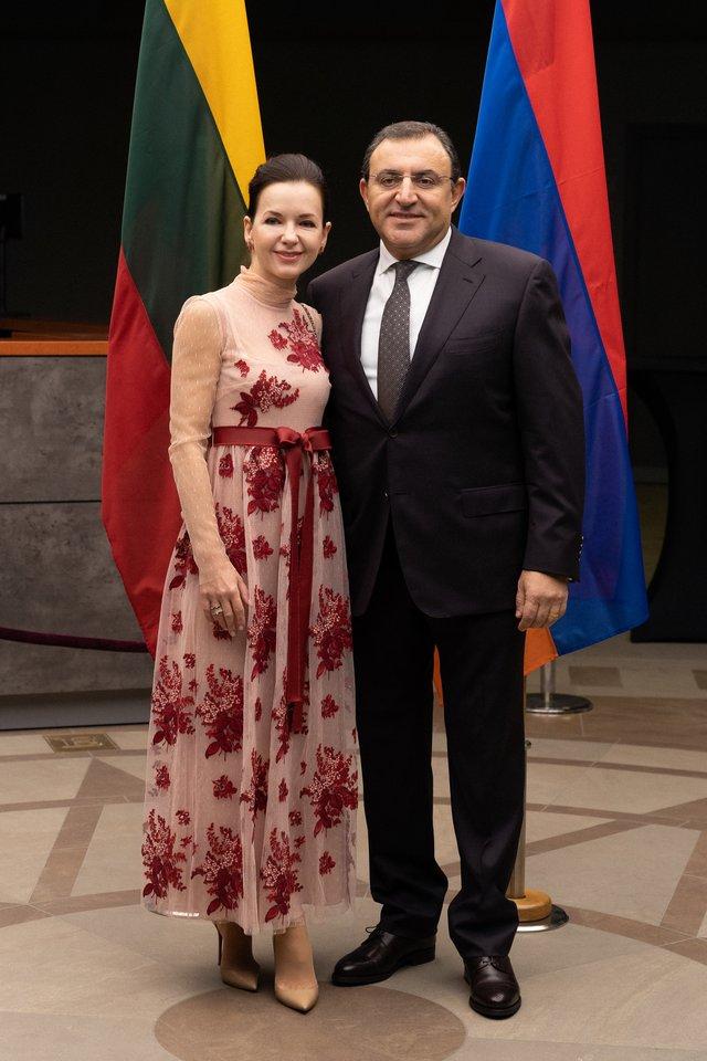 Karapetas Babajanas ir Gytė Grigonytė-Babajan.<br>Asmeninio albumo nuotr.