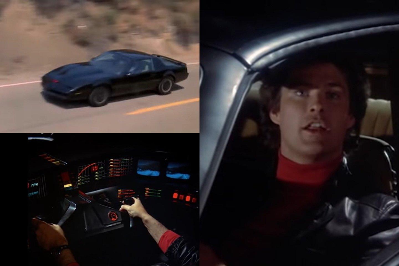 Žymus amerikiečių aktorius Deividas Hasselhoffas aukcione parduoda savo automobilį.<br>lrytas.lt fotomontažas
