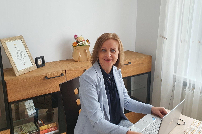 Lietuvos psichologų sąjungos prezidentė Valija Šap.<br>Asmeninio albumo nuotr.