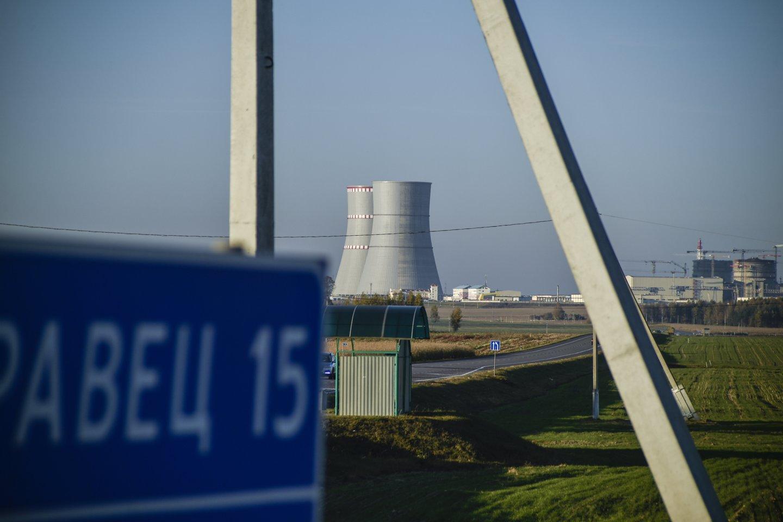 Astravo AE pirmasis reaktorius pradėjo dirbti visu pajėgumu.<br>V.Ščiavinsko nuotr.