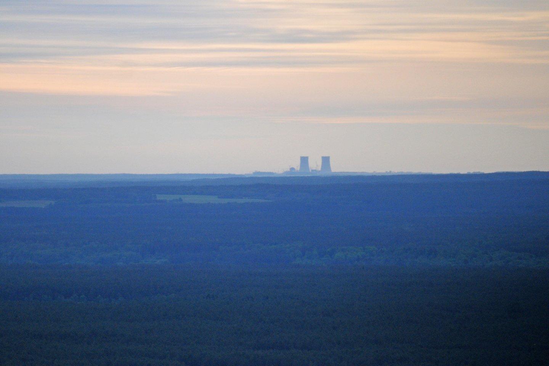 Astravo AE pirmasis reaktorius pradėjo dirbti visu pajėgumu.<br>A.Vaitkevičiaus nuotr.