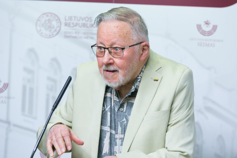 Vytautas Landsbergis.<br>T.Bauro nuotr.