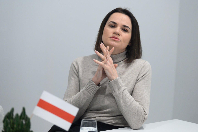 Svetlana Cichanouskaja.<br>V.Skaraičio nuotr.