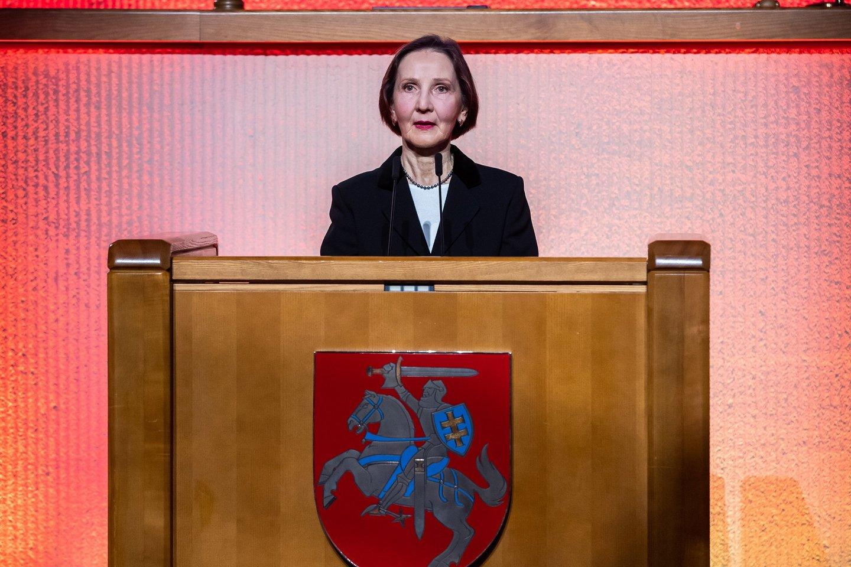 D.Steiblienė.<br>Seimo kanceliarijos (O.Posaškovos) nuotr.