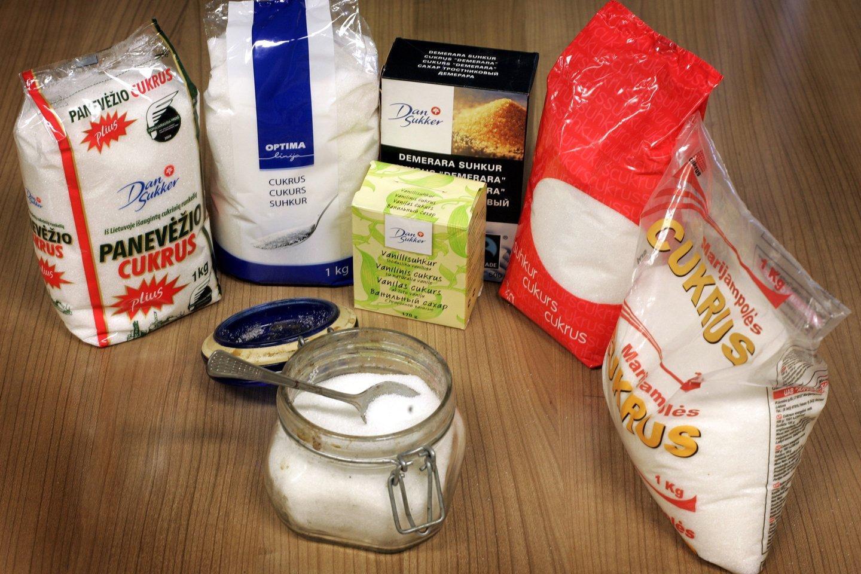 Lietuva Lenkijos pavyzdžiu kol kas neseks: cukraus mokestį administruoti būtų brangu, o nauda abejojama.<br>V.Balkūno nuotr.