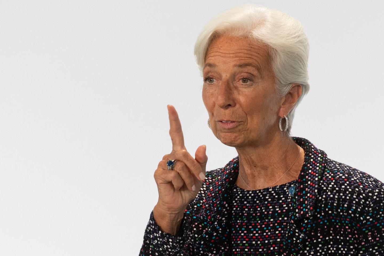Ch. Lagarde.<br>EPA-ELTA nuotr.