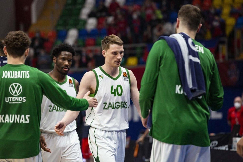 """Kauno """"Žalgirio"""" ir Maskvos CSKA dvikovą laimėjo Rusijos ekipa.<br>zalgiris.lt nuotr."""