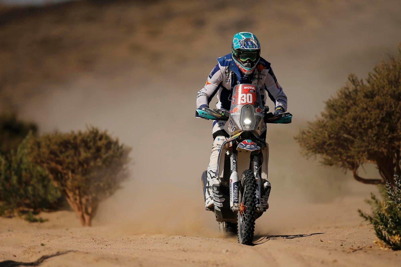 Dalyviams teko įveikti 598 kilometrus, iš kurių greičio ruožą sudarė net 464 kilometrai.<br>A.Gelažninko komandos nuotr.