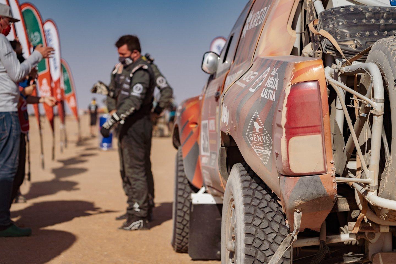 Dalyviams teko įveikti 598 kilometrus, iš kurių greičio ruožą sudarė net 464 kilometrai.<br>V.Dranginio nuotr.