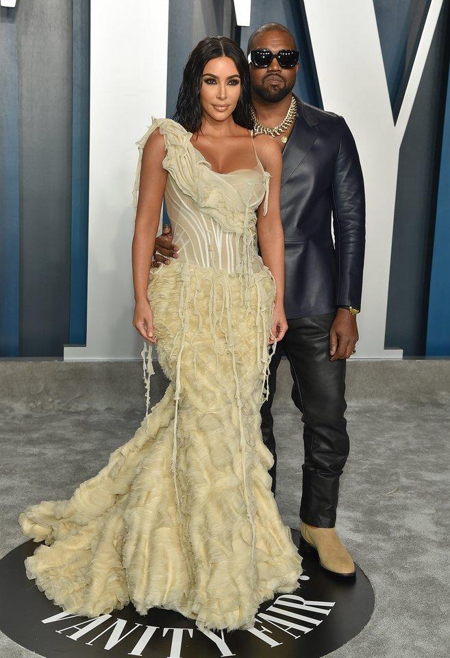 Kanye Westas ir Kim Kardashian.<br>Scanpix nuotr.