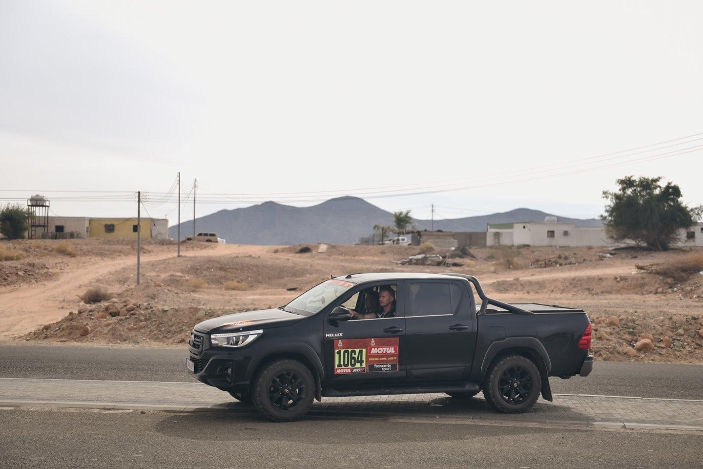 Penktadienį – paskutinysis Dakaro greičio ruožas iš Janbu al Bachro į Džidą, kurioje prieš beveik dvi savaites prasidėjo ir baigsis šiemetės pragaro lenktynės.<br>V.Pilkausko nuotr.