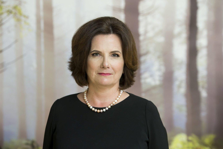 VDU Žemės ūkio akademijos kanclerė prof. Astrida Miceikienė.<br>VDU nuotr.