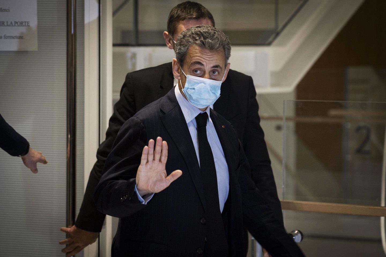 N. Sarkozys tebėra populiari figūra Prancūzijos dešiniųjų stovykloje.<br>Imago images/Scanpix nuotr.
