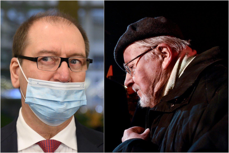 Šią savaitę nuskambėję V.Landsbergio (kairėje) ir V.Uspaskicho pareiškimai Lietuvai gali pridaryti nemažai problemų.<br>Lrytas.lt koliažas