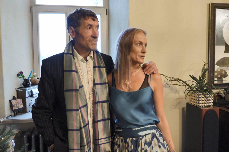 Mindaugas Šventoraitis ir Lina Lila.<br>LNK nuotr.