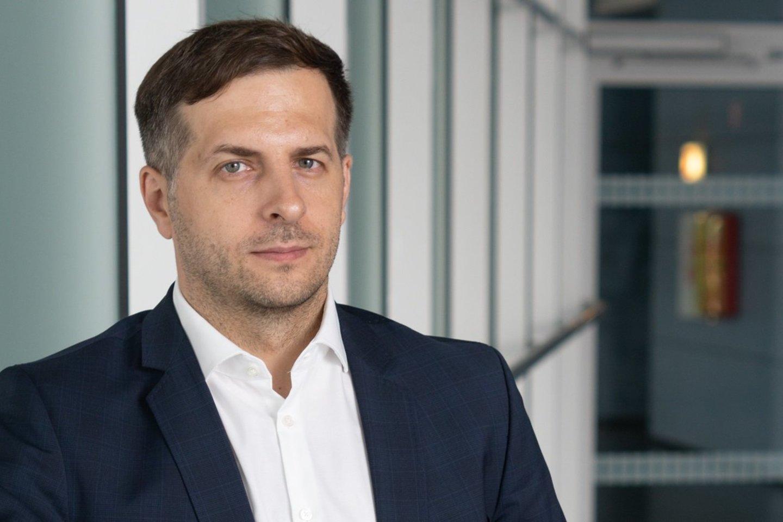 Lietuvos oro uostai Operacijų ir infrastruktūros departamento vadovas Dainius Čiuplys.<br>LOU nuotr.