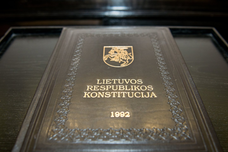 Konstituciniame Teisme - vis dar nepaskirtas pirmininkas.<br>J.Stacevičiaus nuotr.