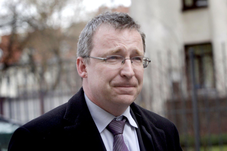 Teisininkas Vytautas Nekrošius<br>V.Balkūno nuotr.