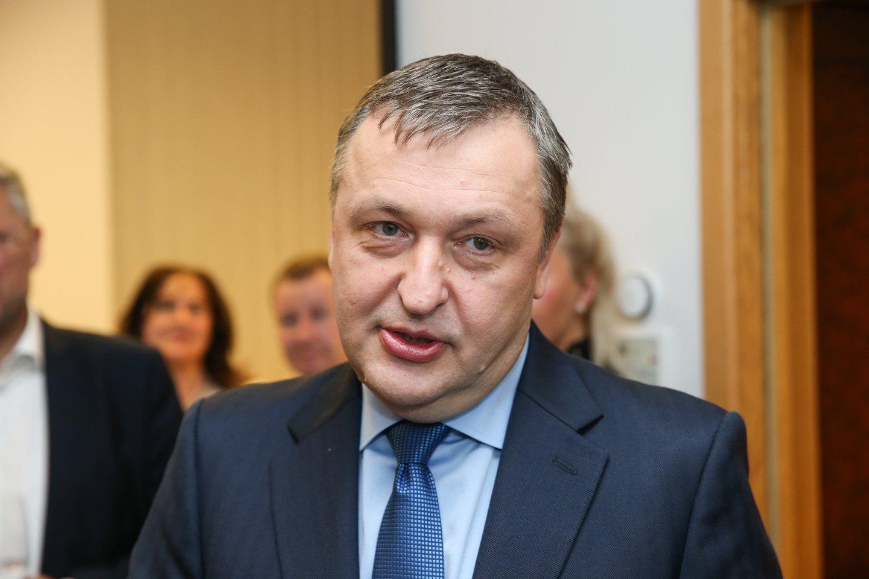 Antanas Guoga kol kas lieka Seime.<br>R.Danisevičiaus nuotr.