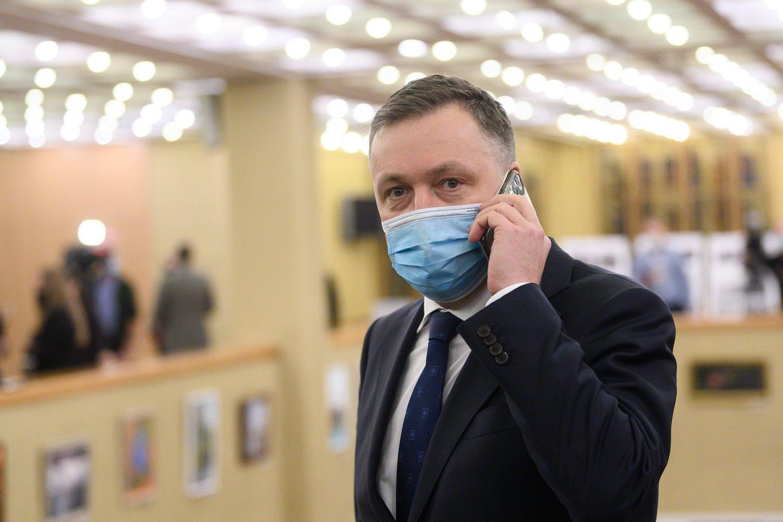Antanas Guoga kol kas lieka Seime.<br>V.Skaraičio nuotr.
