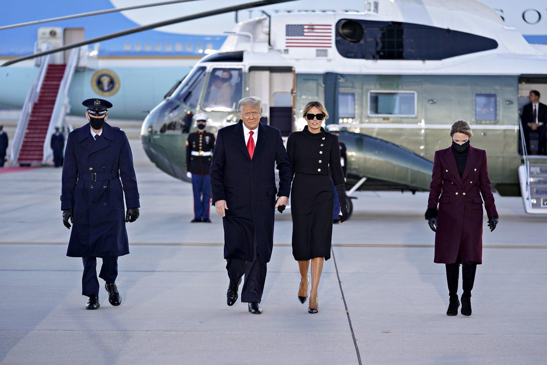 Melania Trump ir Donaldas Trumpas.<br>Scanpix nuotr.
