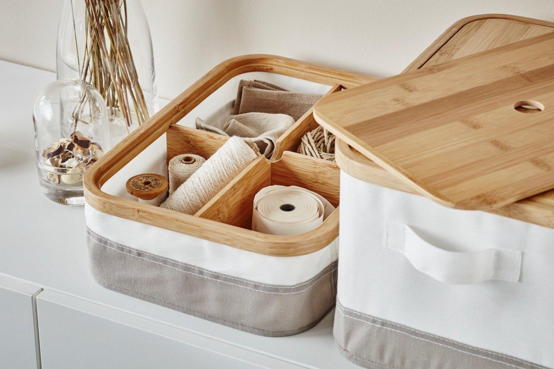 Kaip laikyti smulkius daiktus?<br>IKEA nuotr.