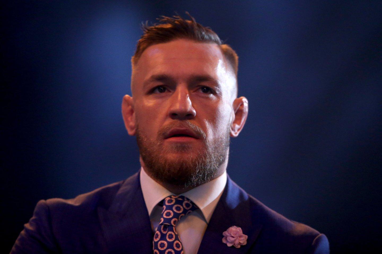 C. McGregorui – milijoninis ieškinys ir kaltinimai išprievartavimu.<br>PC/Scanpix nuotr.