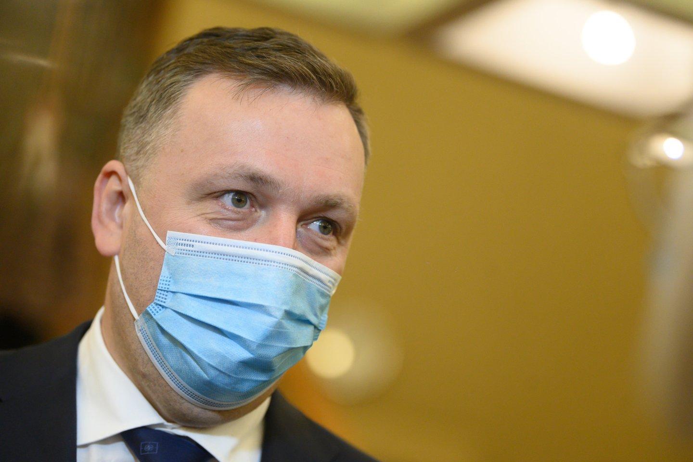 A.Guoga jau pateikęs prašymą panaikinti Seimo nario mandatą.<br>V.Skaraičio nuotr.