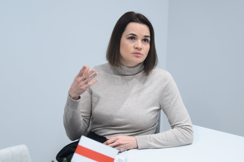 Svetlana Cichanouskaja<br>V.Skaraičio nuotr.