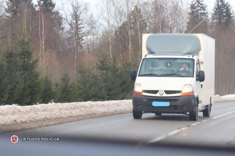 Policijos pareigūnai siekdami užtikrinti tinkamą eismo kontrolę sausio 18-21 dienomis vykdė policinę priemonę.<br>Lietuvos policijos nuotr.