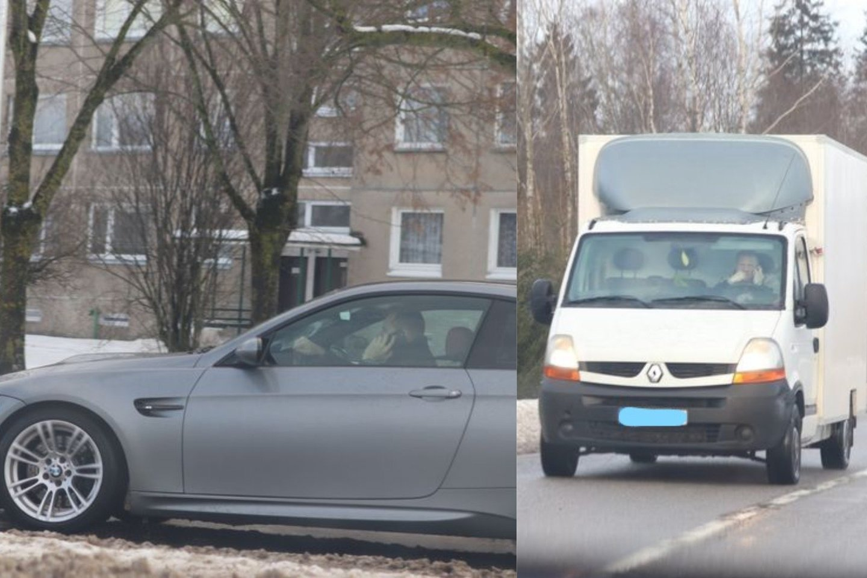 Policijos pareigūnai siekdami užtikrinti tinkamą eismo kontrolę sausio 18-21 dienomis vykdė policinę priemonę.<br>lrytas.lt fotomontažas