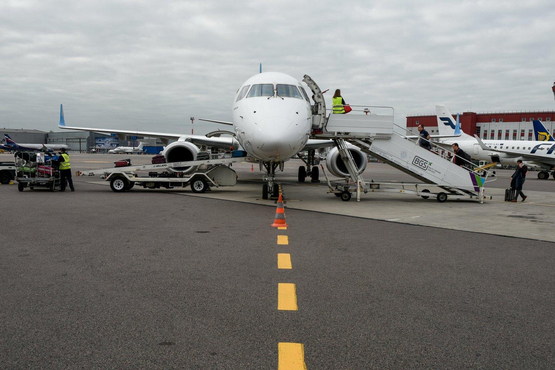 Tbilisis pranešė, kad oro bendrovės, norinčios skraidinti į Sakartvelą, galės planuoti ir vykdyti reguliarius skrydžius.<br>D.Umbraso asociatyvi nuotr.