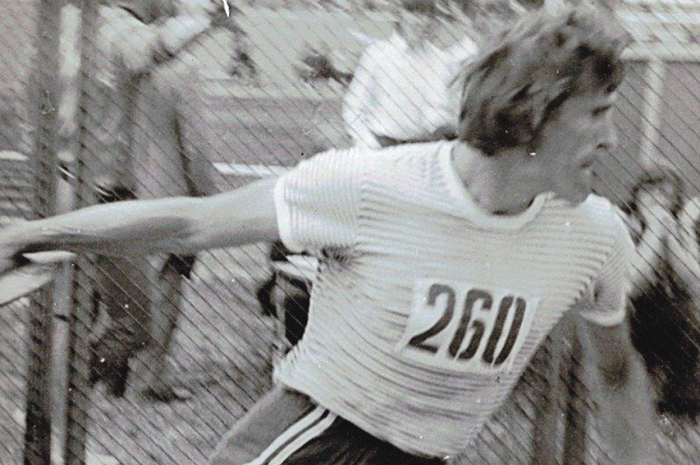 J.Radžius praėjusiame amžiuje buvo perspektyvus, bet per anksti karjerą baigęs sportininkas.<br>Asmeninio archyvo nuotr.