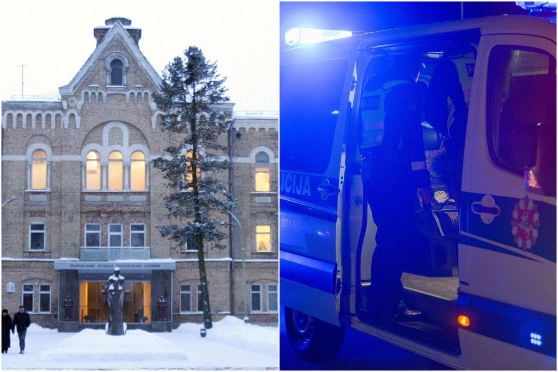 Lietuvos policija praneša, jogiš psichiatrinės ligoninės Vilniuje pabėgo pavojingas ligonis.<br>A.Vaitkevičiaus nuotr.