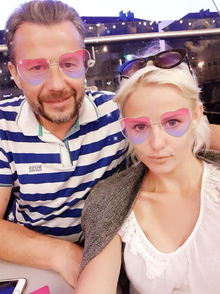 S.Martinavičius ir Edita.<br>Asmeninio albumo nuotr.