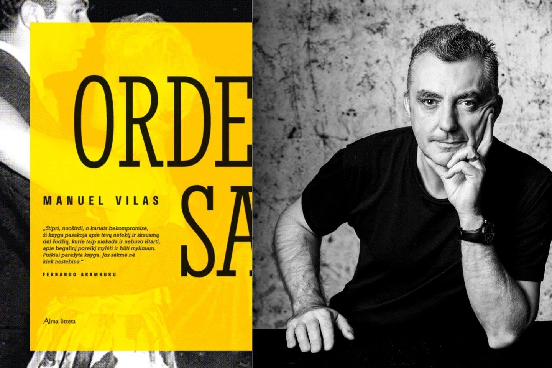 Autobiografinis Manuelio Vilaso romanas kritikus nustebino tokiu atvirumu, koks literatūros pasaulyje retai pasitaiko.<br>N.Minguez nuotr.