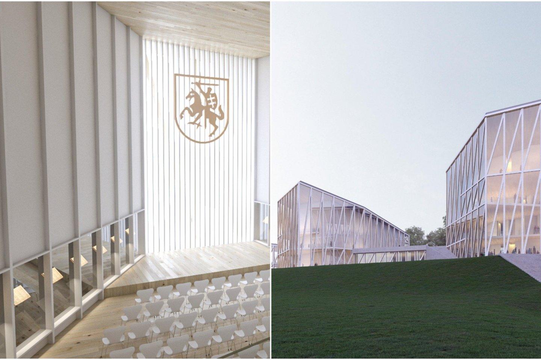 """Didžiausias iššūkis yra rasti kompromisą, kaip kartu sėkmingai su Kultūros ministerija valdysime projektavimo eigą.<br>""""Arquivio architects"""" vizualizacija"""